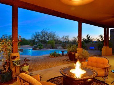 Desert Splendor Back Porch