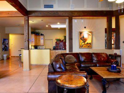Desert Splendor Living Room And Kitchen